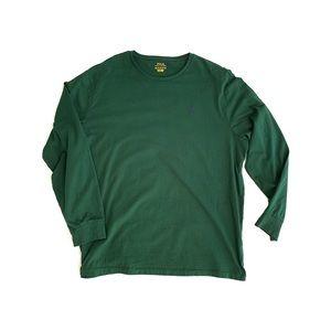 2XL - Polo Ralph Lauren Long Sleeve Green Shirt